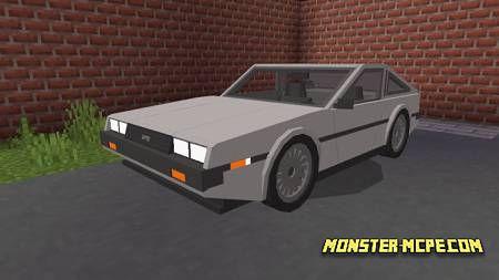 Silver DeLorean DMC-12