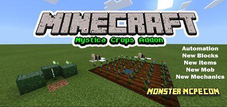Mystica Crops Add-on 1.16+