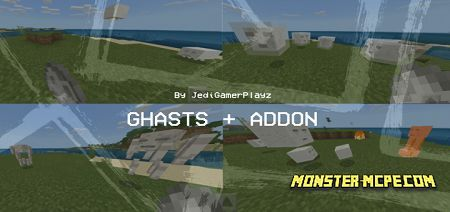 Ghasts+ Add-on 1.16+