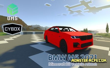 BMW M5 2021 Add-on 1.16+