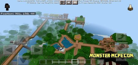 Jungle Resort Map