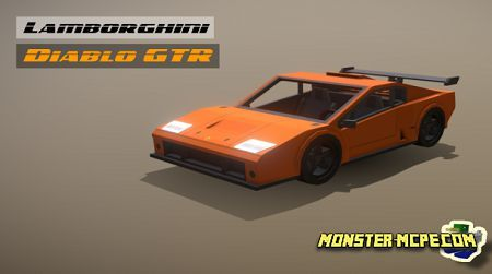 Lamborghini Diablo GTR Add-on 1.16+