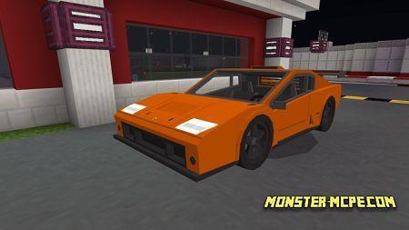 Orange Lamborghini Diablo