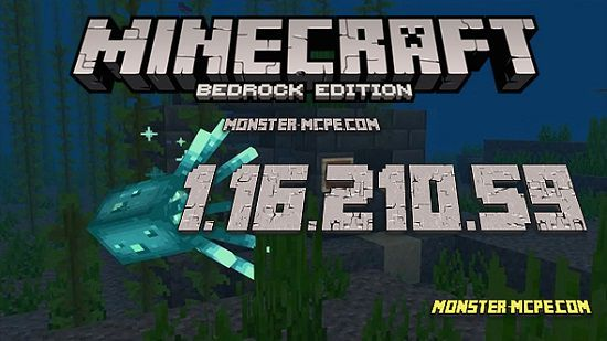 Minecraft PE 1.16.210.59 for Android