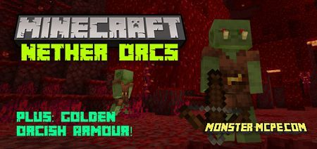 Nether Orcs Add-on 1.16+