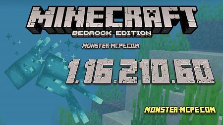 Minecraft PE 1.16.210.60 for Android