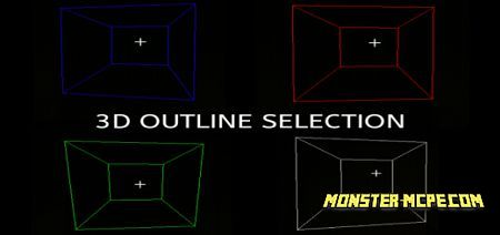 3D Block Outline Texture Pack