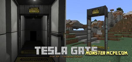SCP Tesla Gate Add-on