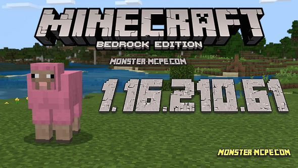 Minecraft PE 1.16.210.61 for Android