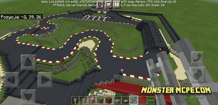 Race Track Map