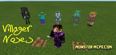 Villager Noses Add-on 1.16+