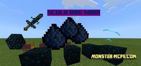Sculk Ore Mod 1.16+