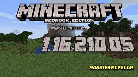 Minecraft PE 1.16.210.05 for Android