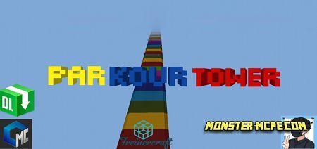 Parkour Tower Map