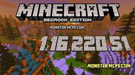 Minecraft PE 1.16.220.51 for Android