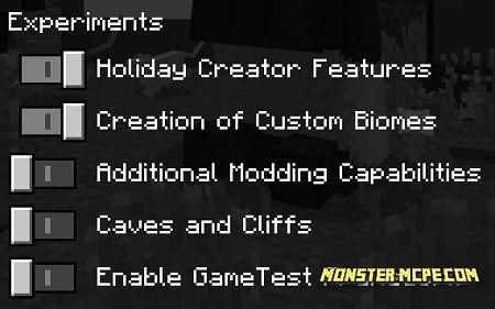 the experimental settings