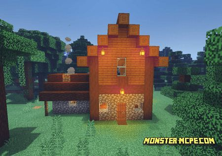 Wandering Trader House (2)