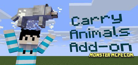 Carry Animals Add-on 1.16+