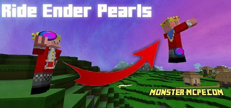 Rideable Ender Pearls Add-on