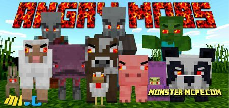 Angry Mobs Add-on 1.16+
