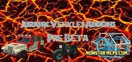 Jurassic Vehicles Add-on 1.16+