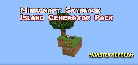 Skyblock Island Generator Add-on 1.16+