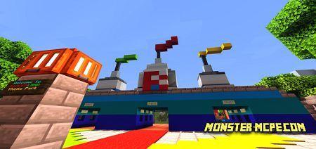 Blazer Land Theme Park Map
