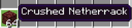 Crushed Netherrack