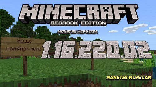 Minecraft PE 1.16.220.02 for Android