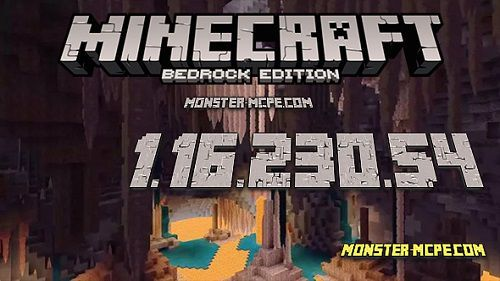 Minecraft PE 1.16.230.54 for Android