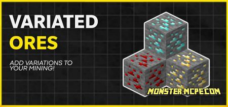 Variated Ores Texture Pack