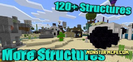 More Structures Add-on 1.16+