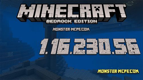 Minecraft PE 1.16.230.56 for Android