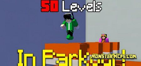 In Parkour! (50 Levels) Map