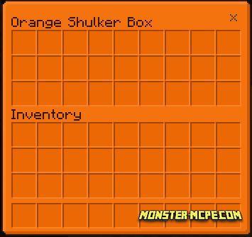 Orange Shulker Box GUI