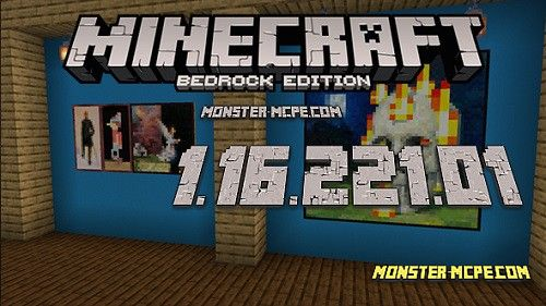 Minecraft PE 1.16.221.01 for Android