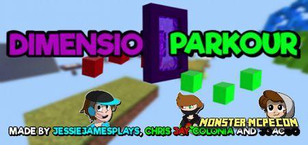 Dimension Parkour Map