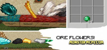 Ore Flowers Add-on 1.16+