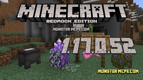 Minecraft PE 1.17.0.52 for Android