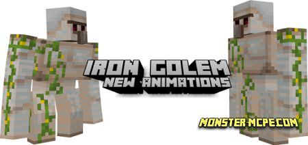 New Iron Golem Animations Texture Pack