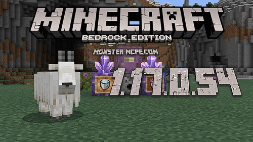 Minecraft PE 1.17.0.54 for Android
