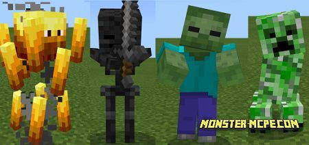 Mobs+ Texture Pack