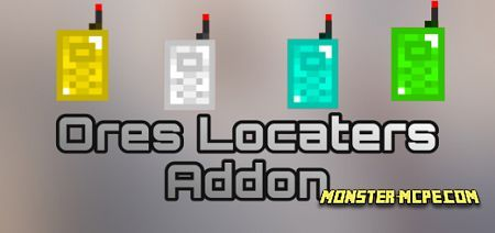 Ores Locaters Add-on 1.16+