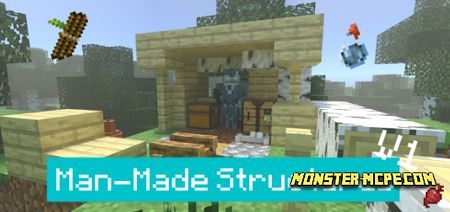 Man-Made Structures V1 Add-on 1.16+