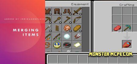 Merging Items Add-on 1.17/1.16+