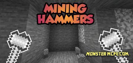 3x3 Mining Hammers Add-on 1.16+