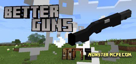 Better Guns Add-on 1.17/1.16+