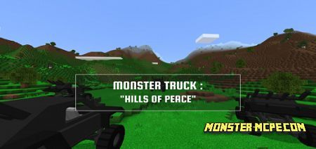 Monster Truck: Hills of Peace Map