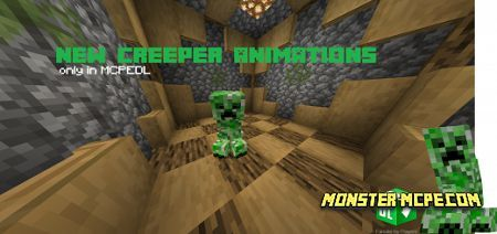 New Creeper Animations Texture Pack
