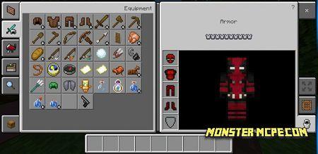 Deadpool's armor